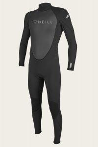 oneill full zip wetsuit
